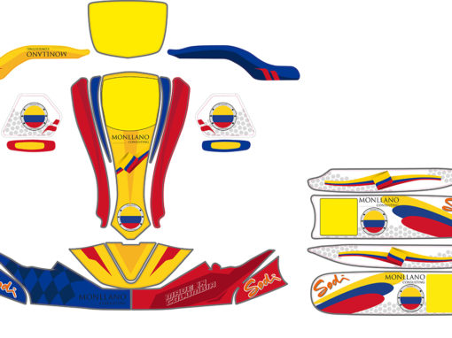 kit déco karting colombie